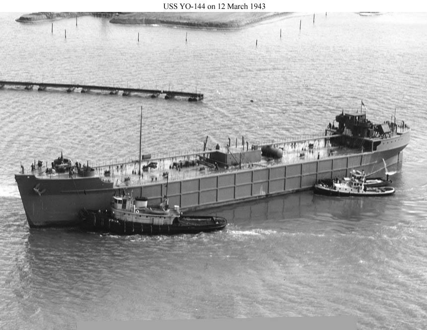 A Concrete ship of the same class as YON-146