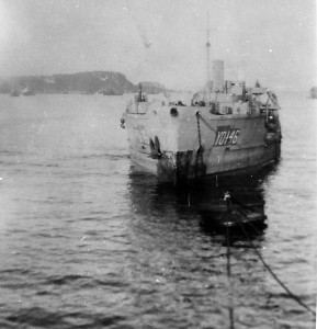 Concrete Ship YON-146 during WWII