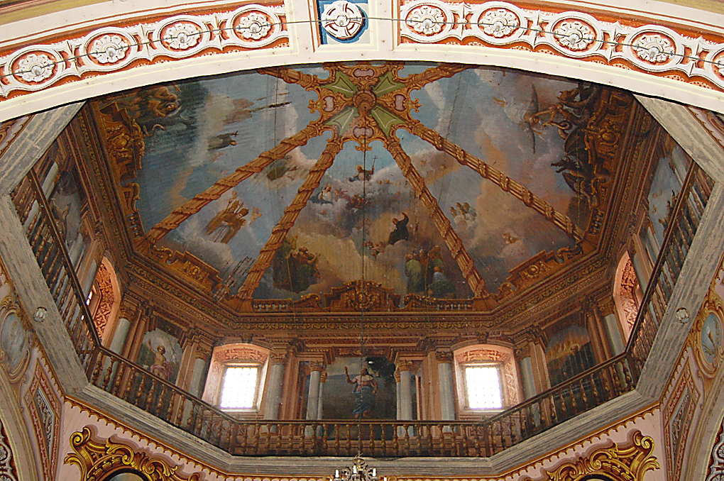 St. James Dome Another example of the art work in Saint James church