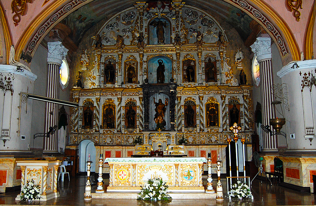 St James Alter The Alter and Retablos of St. James