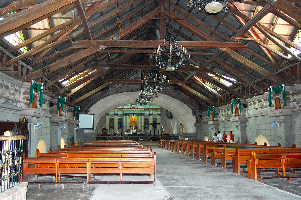 Interior of San Guillermo Parish Church