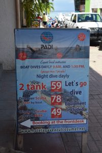 plan ahead and save on cruise diving