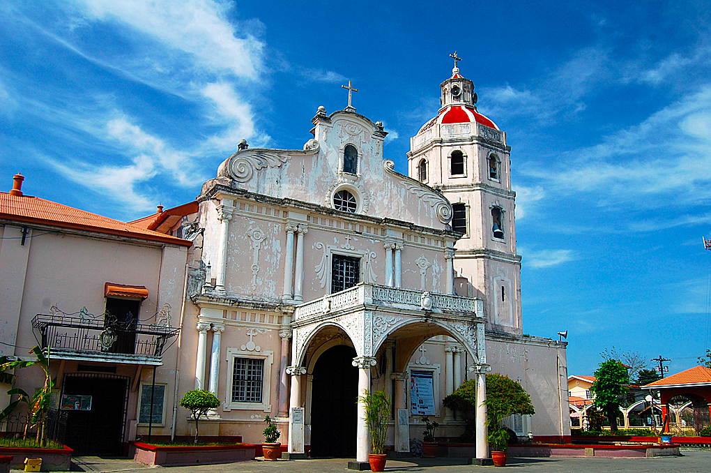 St James the Apostle Church: Betis, Guagua Pampanga This church is considered one of the finest remaining example of a Colonial Spanish Church. The details in the ceiling paintings and the quality of the carvings behind the alter attracted the devoted and art lovers alike.