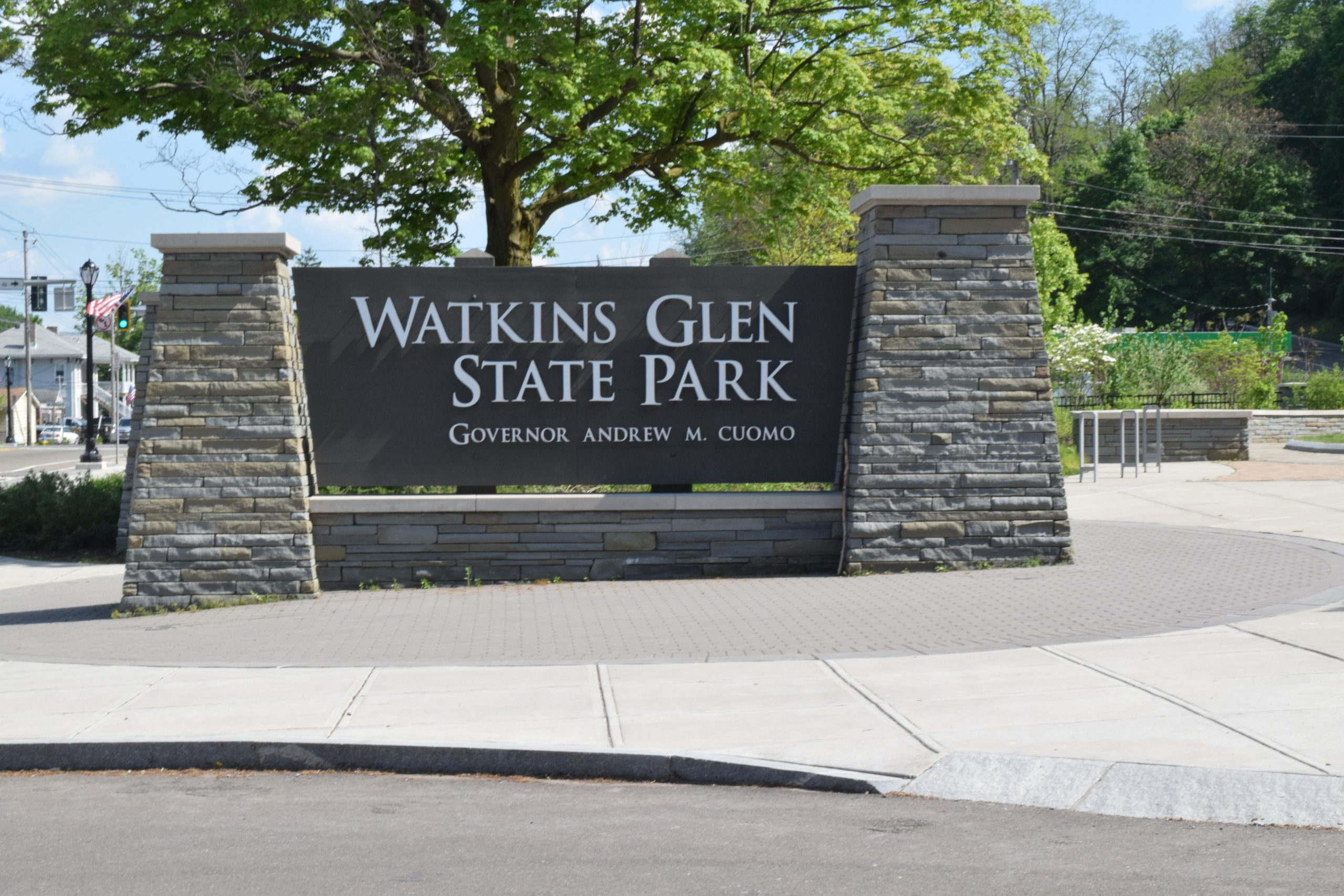 Watkins Glen Main Entrance