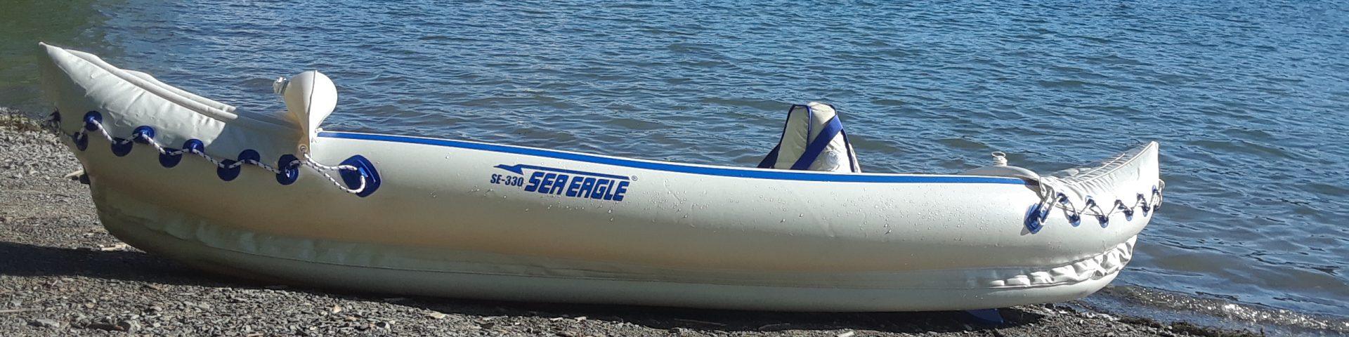 Sea Eagle kayak, Kayaking Hemlock lake