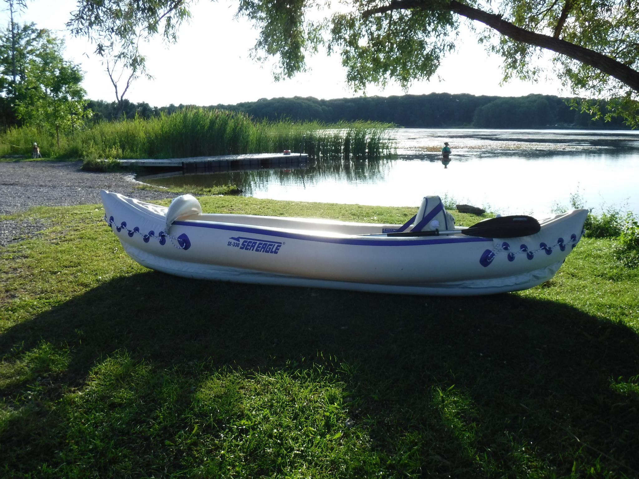 Kayaking Mendon Ponds Park Sea Eagle 330