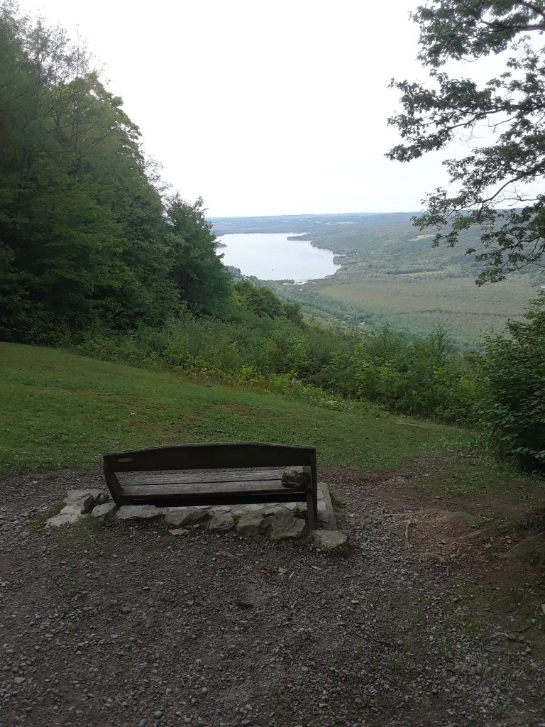 Harriet Hollister Spencer State Park is located just South of Honeoye Lake in Canadice, NY. Finger lakes wine and hiking