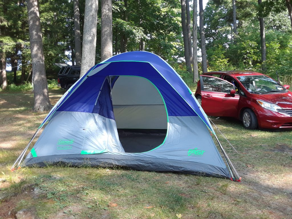Wellesley Island State Park camping site A47