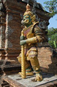 Wat Loc Molee Gate Chiang mai